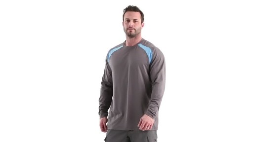 Guide Gear Men's Performance Fishing Long Sleeve Shirt 360 View - image 7 from the video