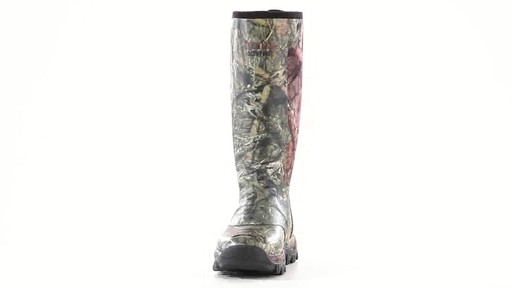 Guide Gear Men's Wood Creek Rubber Hunting Boots Waterproof 360 View - image 1 from the video