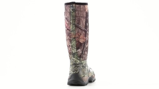 Guide Gear Men's Wood Creek Rubber Hunting Boots Waterproof 360 View - image 4 from the video