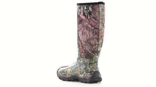 Guide Gear Men's Wood Creek Rubber Hunting Boots Waterproof 360 View - image 5 from the video