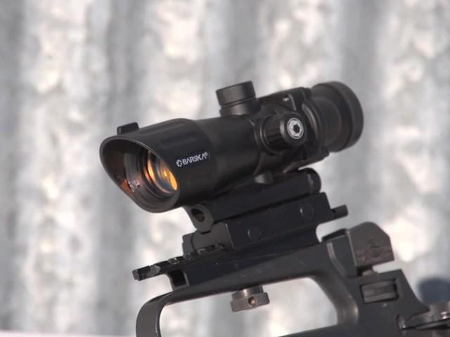 Barska® 1x30 IR M16 Electro Sight Rifle Scope - image 10 from the video