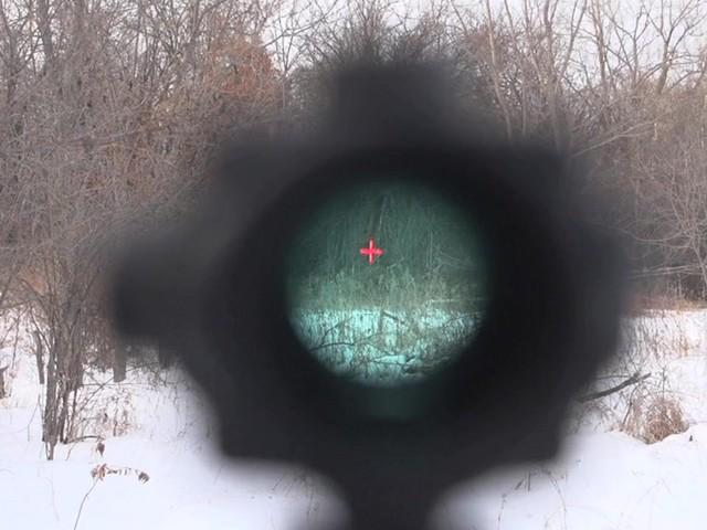 Barska® 1x30 IR M16 Electro Sight Rifle Scope - image 3 from the video