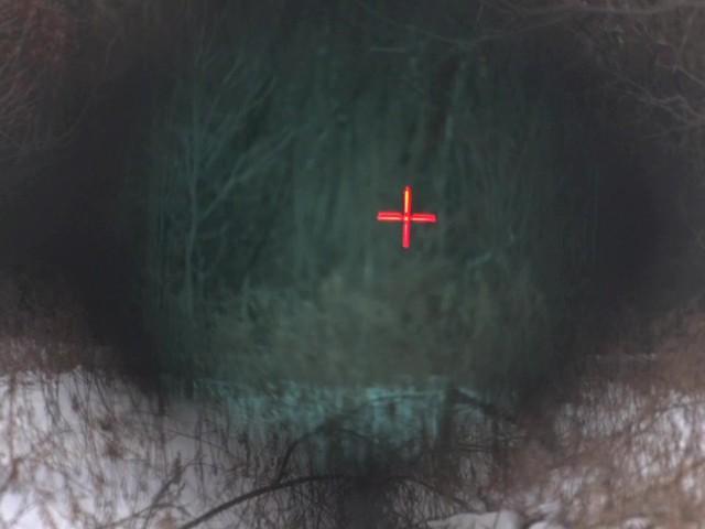 Barska® 1x30 IR M16 Electro Sight Rifle Scope - image 4 from the video