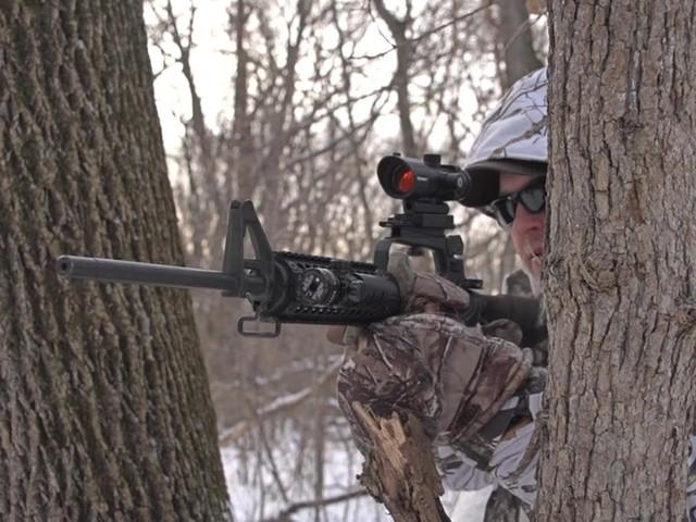Barska® 1x30 IR M16 Electro Sight Rifle Scope - image 7 from the video