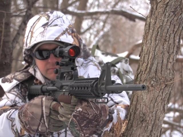 Barska® 1x30 IR M16 Electro Sight Rifle Scope - image 8 from the video
