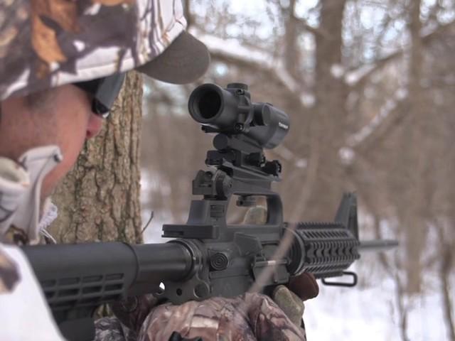 Barska® 1x30 IR M16 Electro Sight Rifle Scope - image 9 from the video