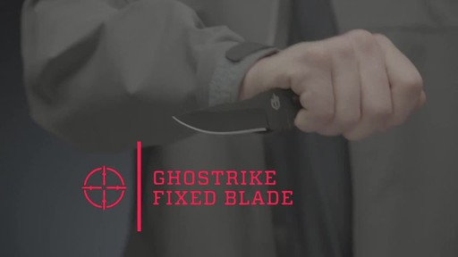 Gerber Ghostrike Fixed Blade Knife Black - image 1 from the video