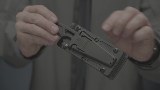 Gerber Ghostrike Fixed Blade Knife Black - image 4 from the video