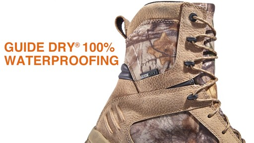 Guide Gear Men's Timber Ops Hunting Boots Waterproof - image 4 from the video