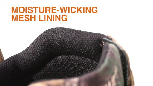 Guide Gear Men's Timber Ops Hunting Boots Waterproof - image 8 from the video
