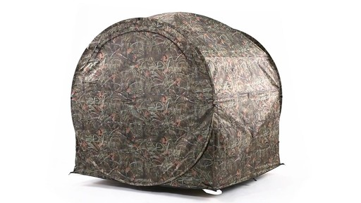 Guide Gear Hay Bale Archery Blind 360 View - image 1 from the video