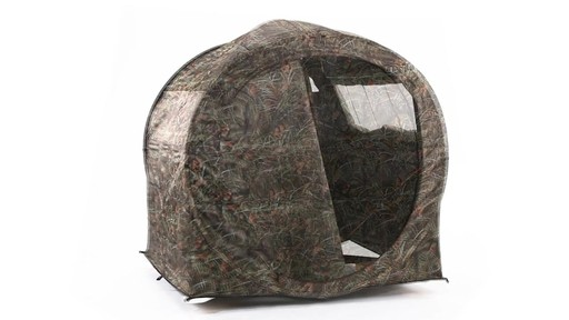 Guide Gear Hay Bale Archery Blind 360 View - image 5 from the video