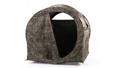 Guide Gear Hay Bale Archery Blind 360 View - image 6 from the video