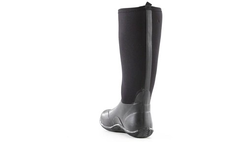 Guide Gear Men's High Bogger Waterproof Rubber Boots 360 View - image 3 from the video
