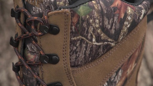 Guide Gear Giant Timber II Men's 1400 Gram Insulated Hunting Boots Waterproof Mossy Oak - image 4 from the video