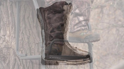 Guide Gear Giant Timber II Men's 1400 Gram Insulated Hunting Boots Waterproof Mossy Oak - image 6 from the video