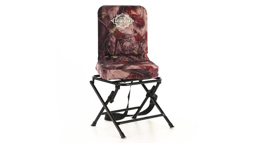 Guide Gear Camo Swivel Hunting Chair 360 View - image 1 from the video