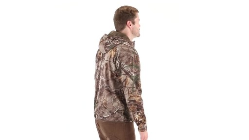 Guide Gear Men's Scent Control Quarter-Zip Hoodie 360 View - image 2 from the video
