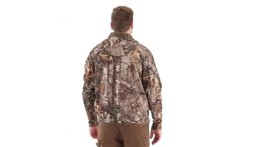 Guide Gear Men's Scent Control Quarter-Zip Hoodie - image 3 from the video