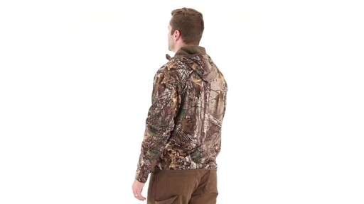 Guide Gear Men's Scent Control Quarter-Zip Hoodie 360 View - image 4 from the video
