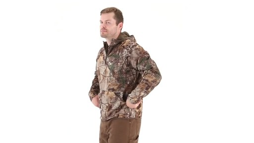 Guide Gear Men's Scent Control Quarter-Zip Hoodie - image 5 from the video