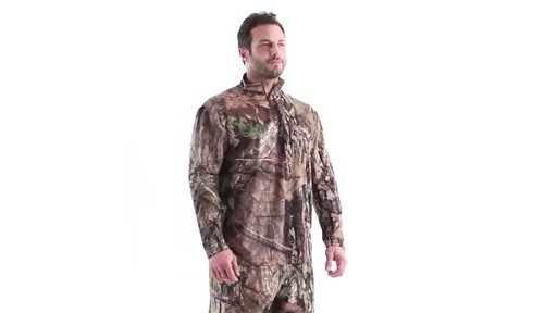Guide Gear Men's Performance Hunting Long-Sleeve Quarter-Zip Shirt 360 View - image 1 from the video