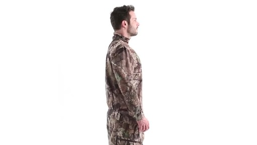 Guide Gear Men's Performance Hunting Long-Sleeve Quarter-Zip Shirt 360 View - image 3 from the video