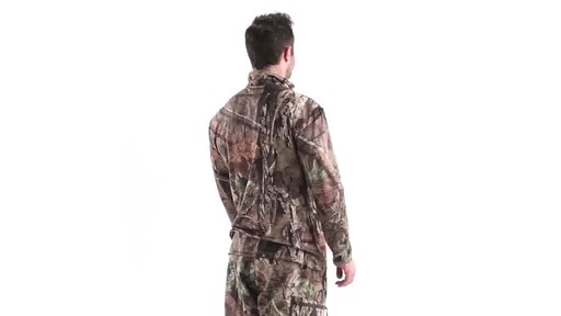 Guide Gear Men's Performance Hunting Long-Sleeve Quarter-Zip Shirt 360 View - image 4 from the video