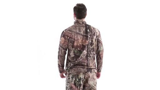 Guide Gear Men's Performance Hunting Long-Sleeve Quarter-Zip Shirt 360 View - image 6 from the video