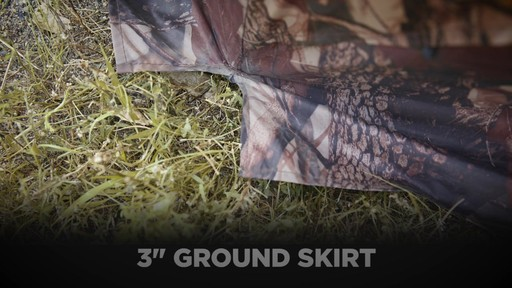 Guide Gear 6-Sided Hub Ground Hunting Blind - image 8 from the video