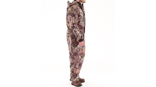 Guide Gear Men's Guide Dry Hunt Coveralls Waterproof Insulated 360 View - image 2 from the video