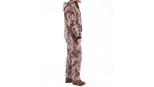 Guide Gear Men's Guide Dry Hunt Coveralls Waterproof Insulated 360 View - image 3 from the video