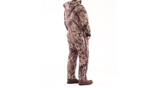 Guide Gear Men's Guide Dry Hunt Coveralls Waterproof Insulated 360 View - image 4 from the video
