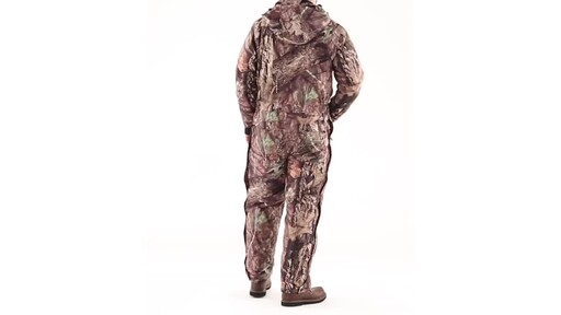 Guide Gear Men's Guide Dry Hunt Coveralls Waterproof Insulated 360 View - image 5 from the video