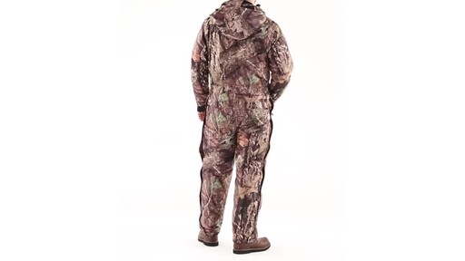Guide Gear Men's Guide Dry Hunt Coveralls Waterproof Insulated 360 View - image 6 from the video