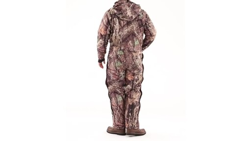 Guide Gear Men's Guide Dry Hunt Coveralls Waterproof Insulated 360 View - image 7 from the video