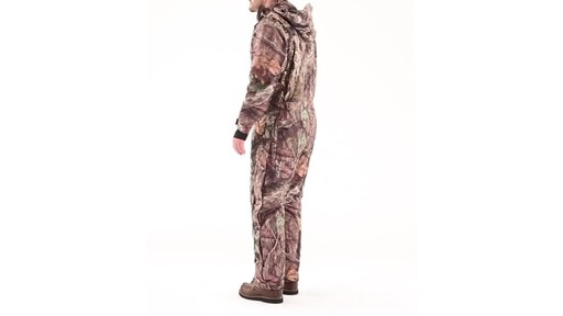 Guide Gear Men's Guide Dry Hunt Coveralls Waterproof Insulated 360 View - image 8 from the video