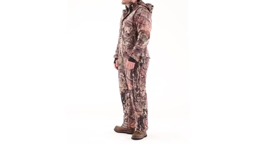 Guide Gear Men's Guide Dry Hunt Coveralls Waterproof Insulated 360 View - image 9 from the video
