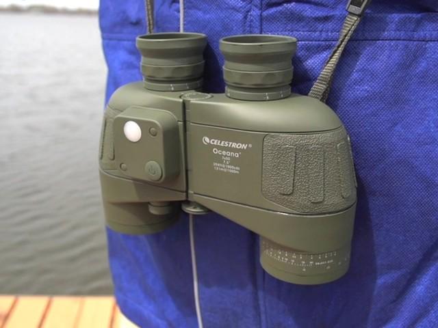 Celestron® Oceana 7x50mm Waterproof Individual Focus Binoculars - image 9 from the video