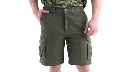 Guide Gear Men's Outdoor Cargo Shorts 360 View - image 10 from the video