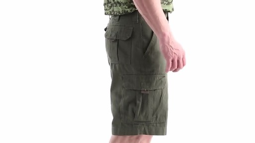 Guide Gear Men's Outdoor Cargo Shorts 360 View - image 3 from the video