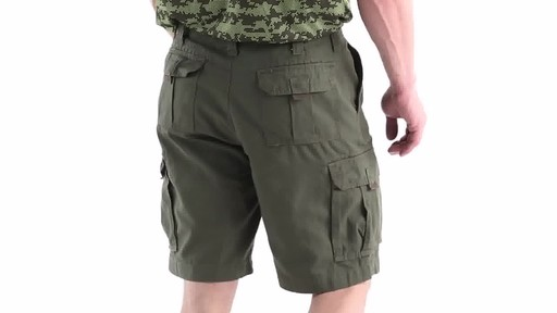 Guide Gear Men's Outdoor Cargo Shorts 360 View - image 4 from the video