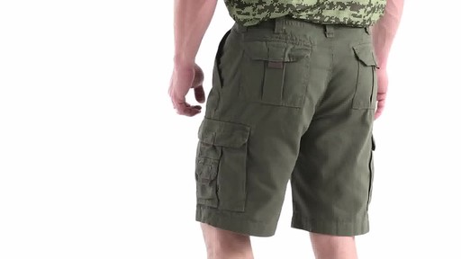 Guide Gear Men's Outdoor Cargo Shorts 360 View - image 5 from the video