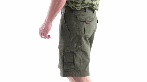 Guide Gear Men's Outdoor Cargo Shorts 360 View - image 7 from the video
