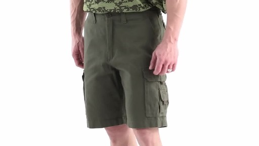 Guide Gear Men's Outdoor Cargo Shorts 360 View - image 8 from the video