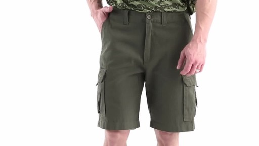Guide Gear Men's Outdoor Cargo Shorts 360 View - image 9 from the video