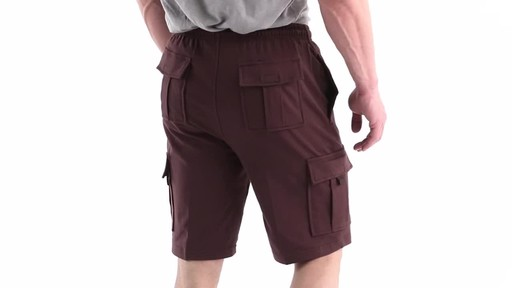 Guide Gear Men's Knit Cargo Shorts 360 View - image 4 from the video