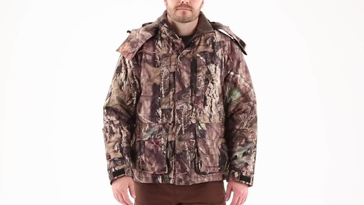 Guide Gear Men's Guide Dry Hunt Parka 360 View - image 10 from the video