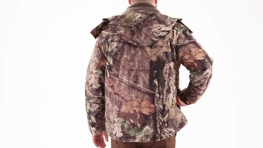 Guide Gear Men's Guide Dry Hunt Parka 360 View - image 4 from the video