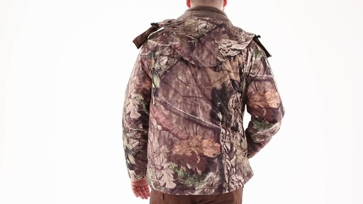 Guide Gear Men's Guide Dry Hunt Parka 360 View - image 6 from the video